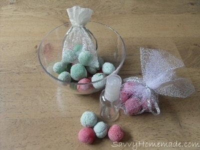 homemade air freshening rocks