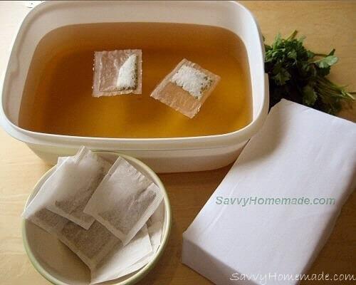 Herbal Homemade Body Wrap