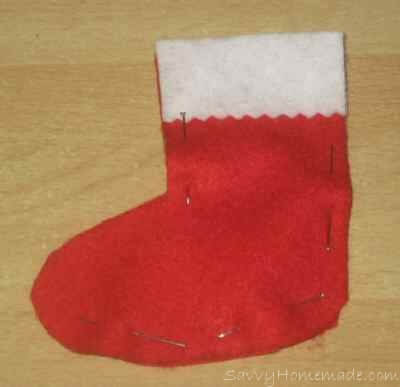 Make Homemade Christmas Tree Stockings