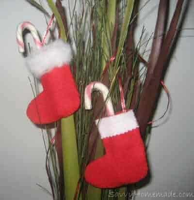 felt christmas tree stockings