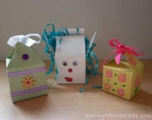 homemade gift boxes