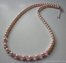 homemade jewelry beading