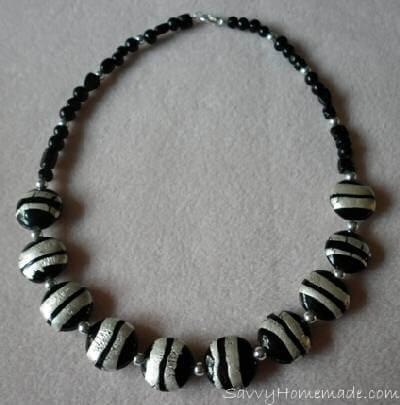stringing homemade Jewelry using beading wire