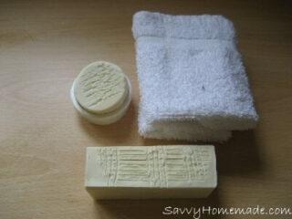 homemade shaving soap