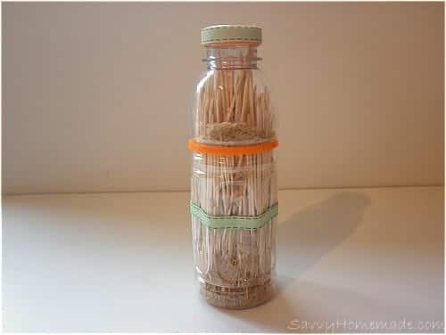 Homemade Rain Shaker Toy