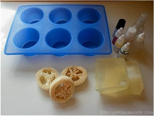 Ingre Nts For Homemade Loofah Soap