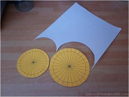 making a kids homemade cipher wheel