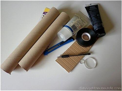 materials for a homemade telescope