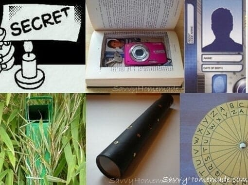 Homemade spy gear for Spy crafts for kids
