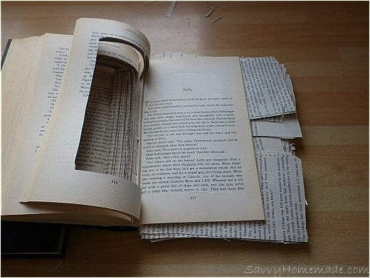making a book safe3