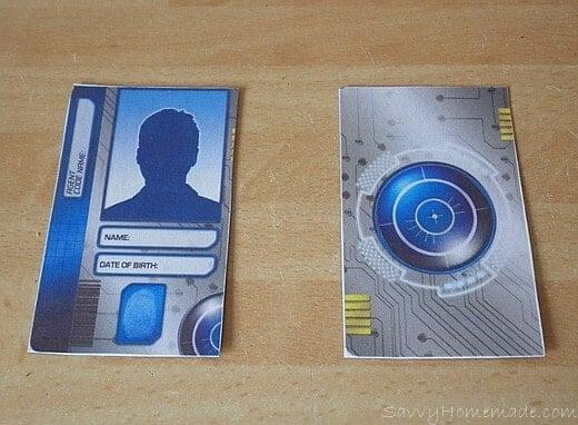 making a spy id card2