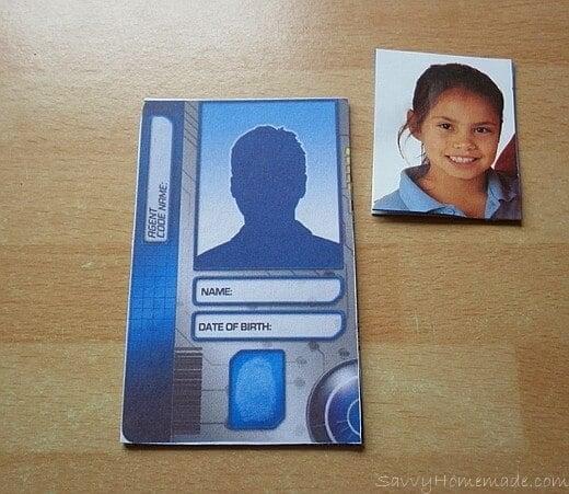 making a spy id card4