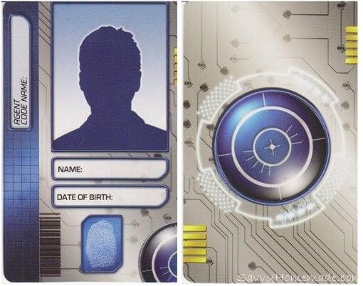 homemade spy id card