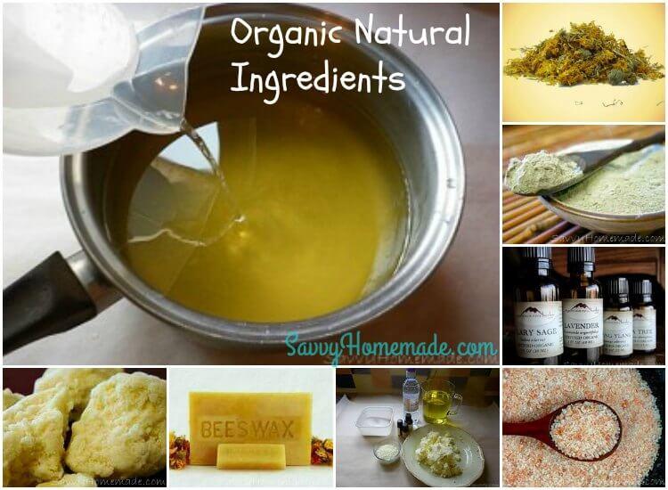 organic natural ingredients