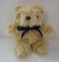 a cute little homemade teddy bear