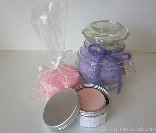 Homemade Bath Salts & Body Butter Gift