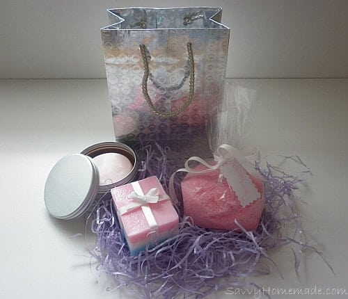 Bath Salts, Body Butter & Soap Gift