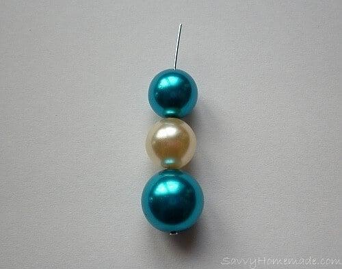 How to make head pin earrings