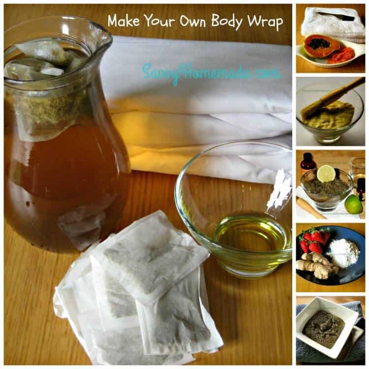 how to make your own diy body wrap