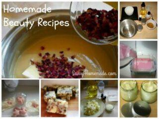 homemade beauty recipes