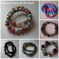 how to make homemade bracelets
