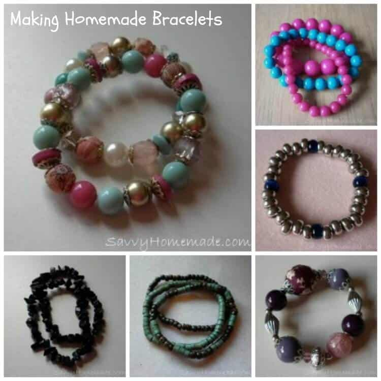 how to make homemade bracelets