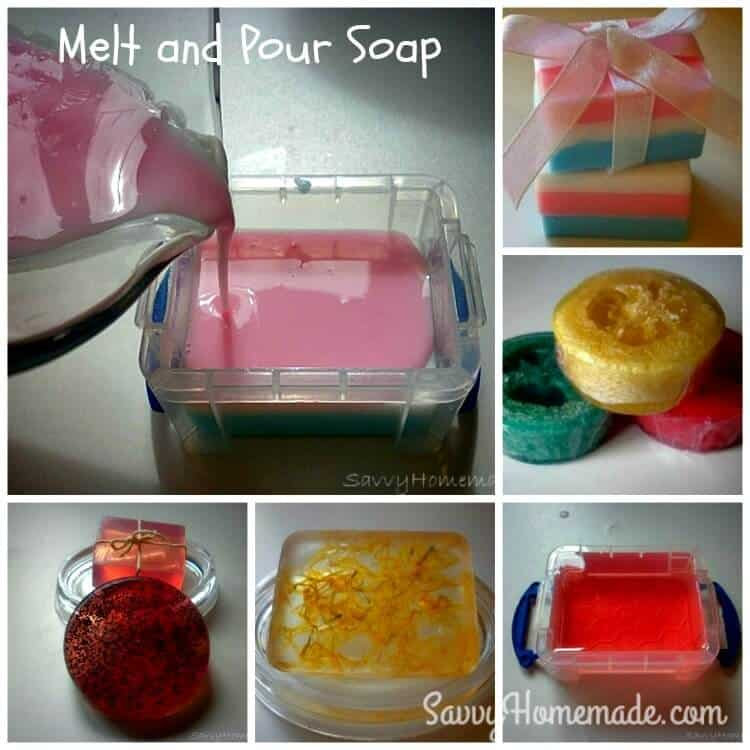 melt and pour soap process