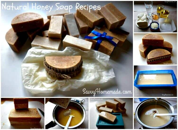 Natural Honey Soap Recipes