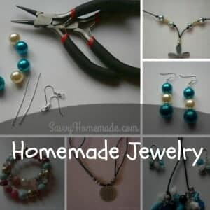 homemade jewelry