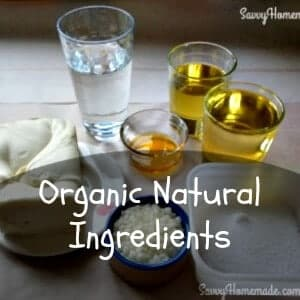 organic natural ingredients