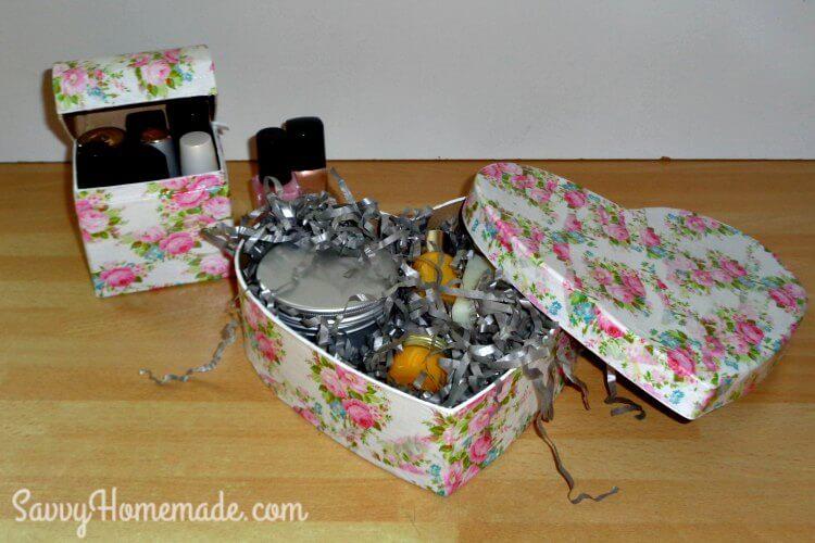 decoupage trinket boxes