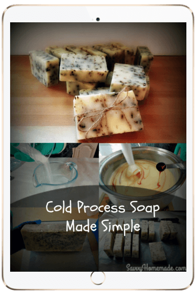 cold process soap made easy