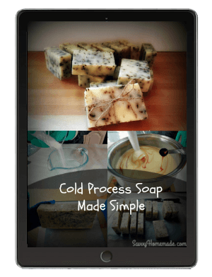 cold process soap made simple