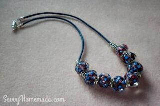 homemade necklace gift