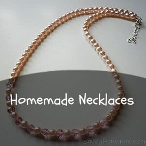 homemade necklace