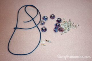 supplies needed to homemade necklace gift