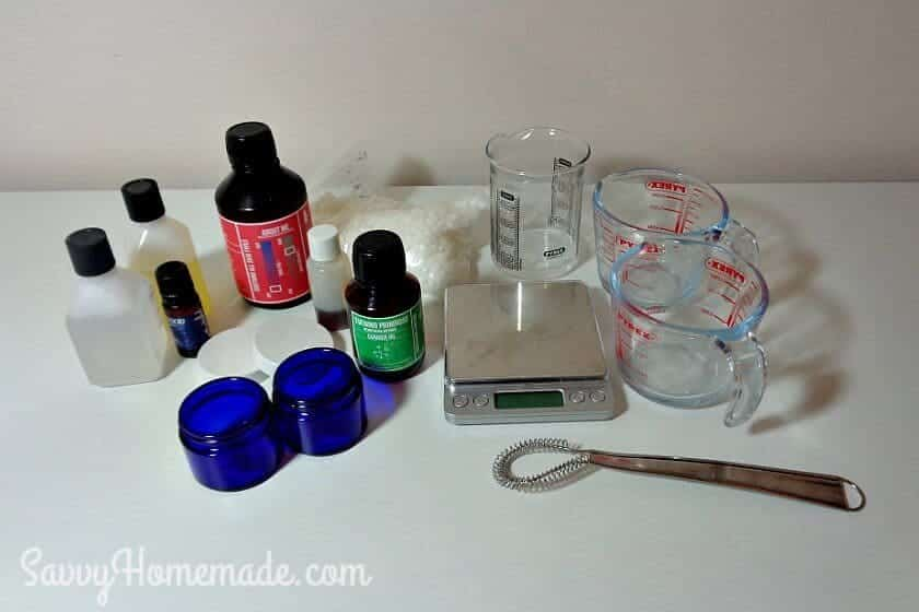 diy face cream ingredients
