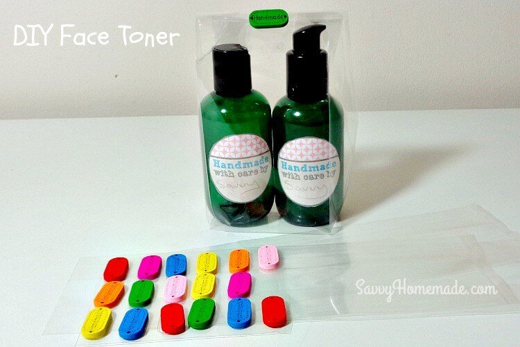 How To Make A Natural DIY Face Toner. ""