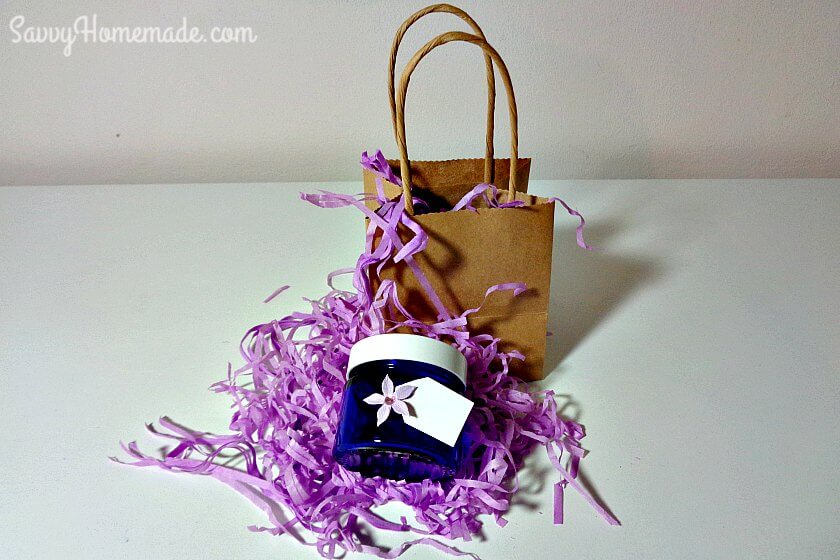 homemade face cream gift