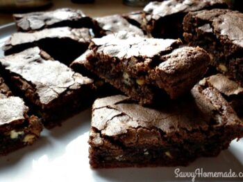 moist & delicious chocolate brownies