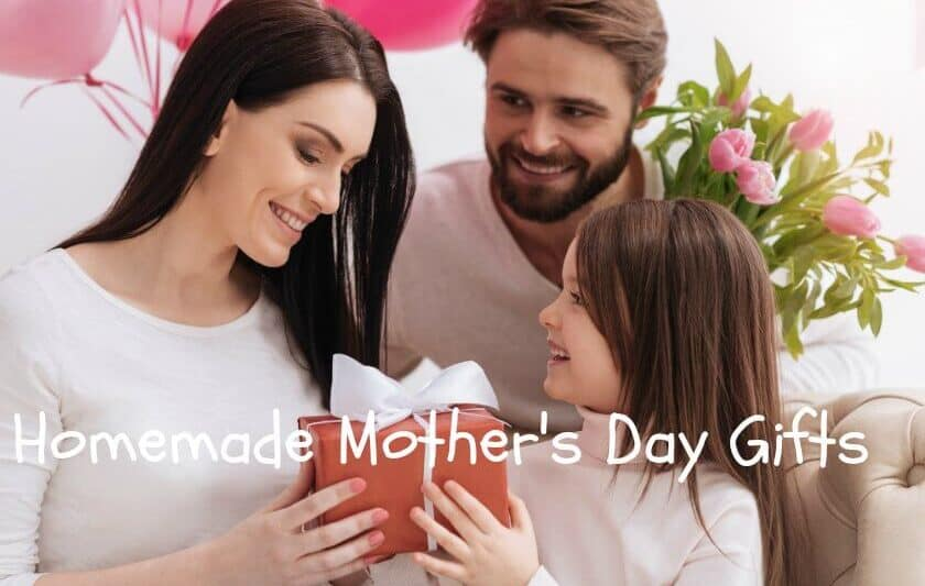homemade and personalized mothers day gifts