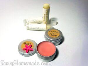 DIY lip balm gift