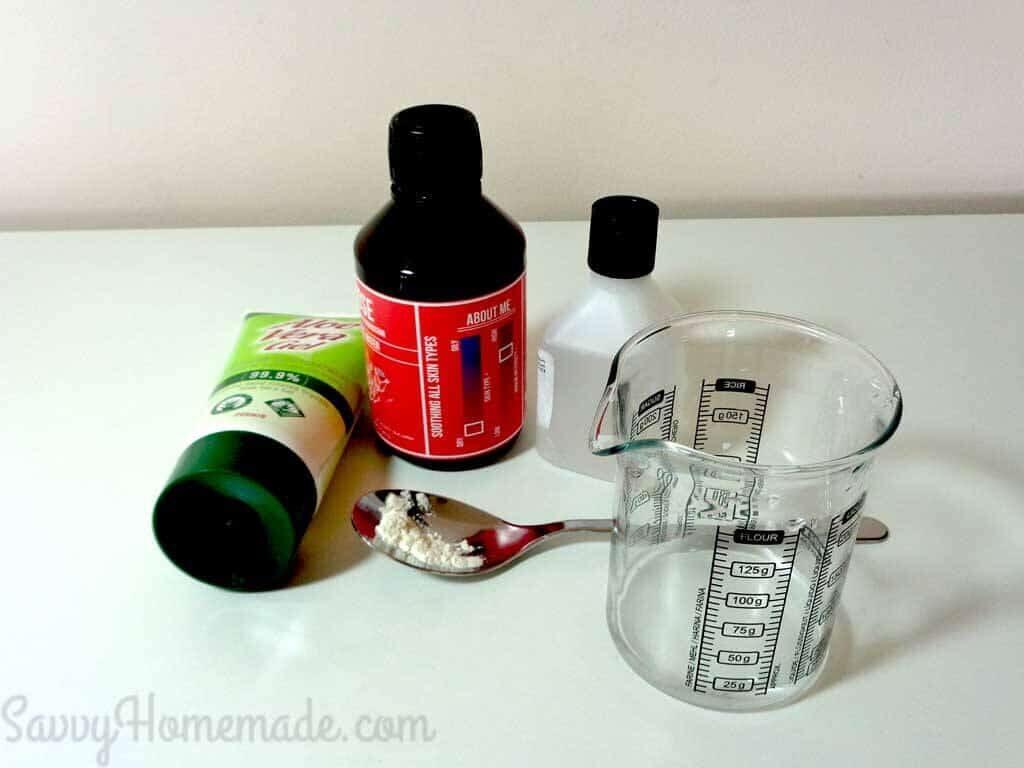 homemade eye gel ingredients
