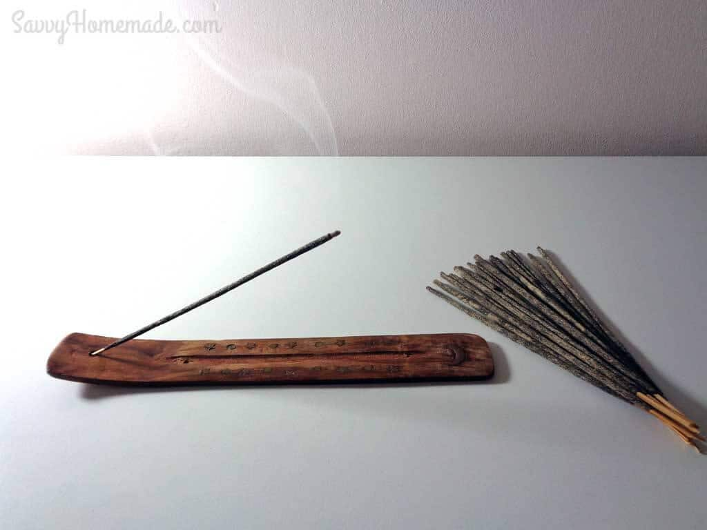 How To Use Homemade Incense Sticks