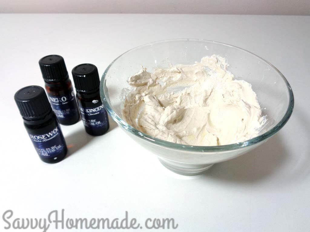 Add the essential oils