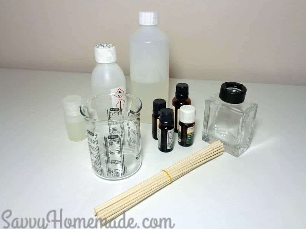 diy reed diffuser ingredients