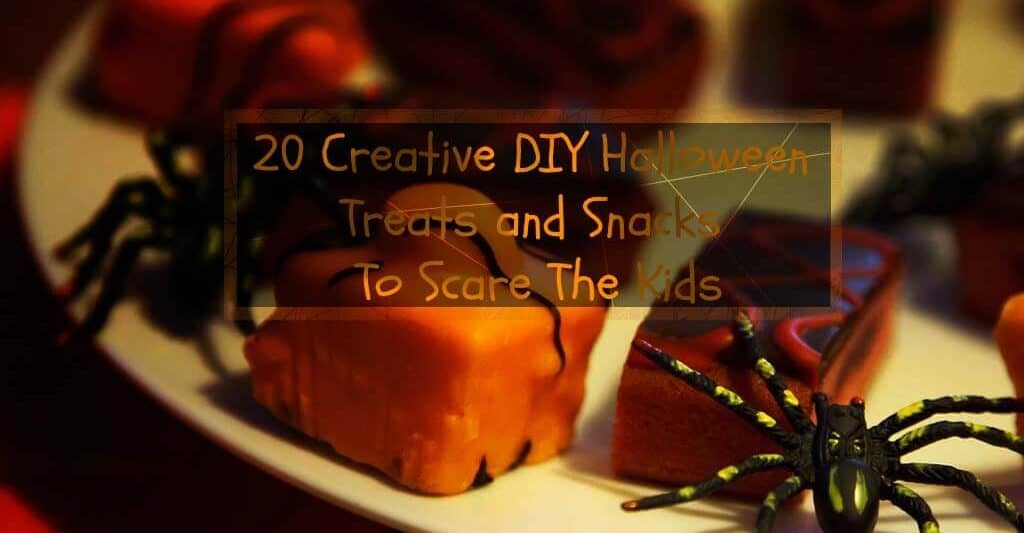 20 Creative DIY Halloween Treats and Snacks To Scare TheKids
