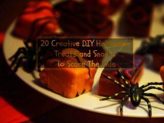 20 Creative DIY Halloween Treats and Snacks To Scare TheKids