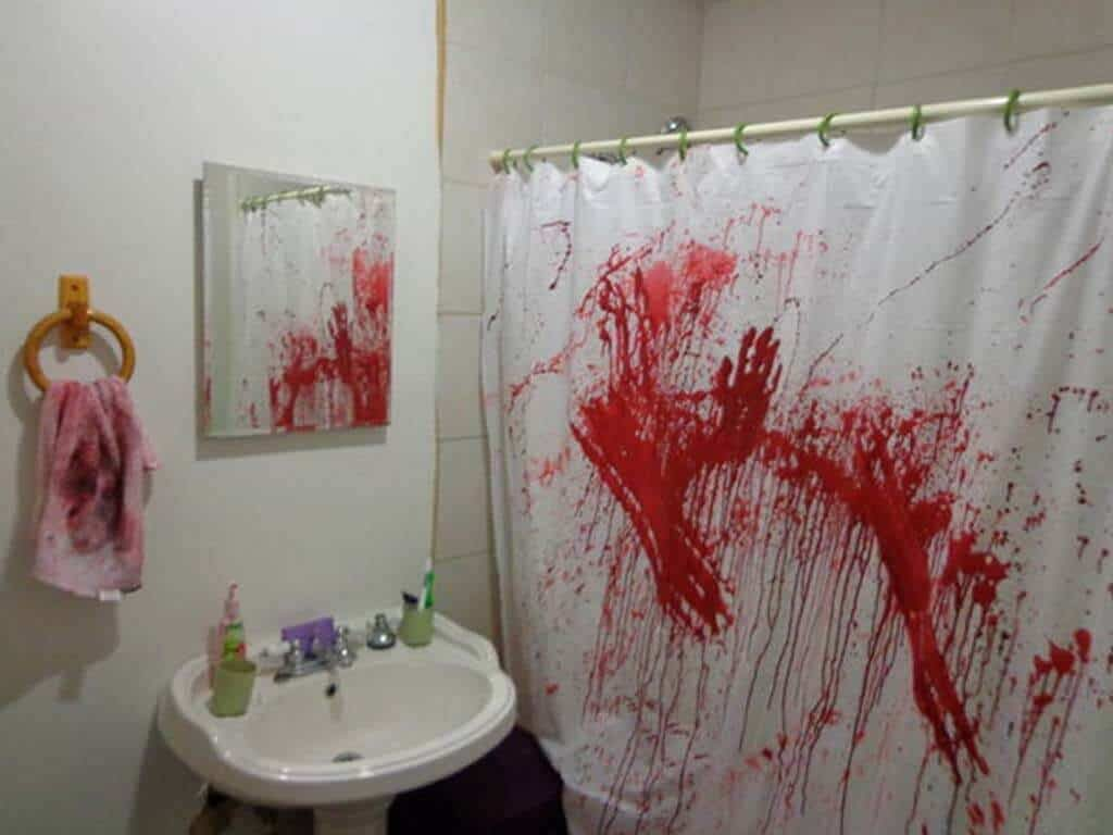Create a Bathroom Murder Scene
