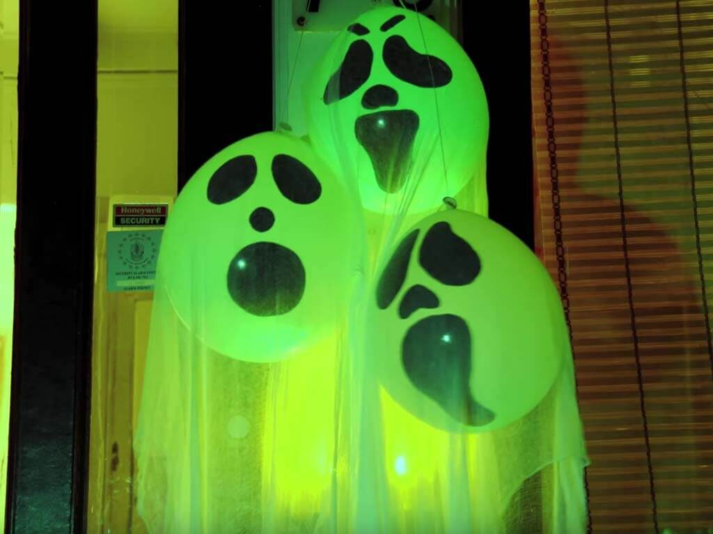 Ghost Glow Balloons